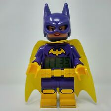 Lego Batman Movie Batgirl kids Minifigure digital alarm clock Purple & Yellow!