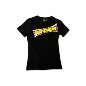 Bikeit Women's Crutchlow Motorcycle Motorbike T-Shirt Cal Crutchlow design