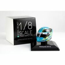 Spark 1:8 HSP027 Lewis Hamilton Helmet Malaysia GP 2015 - Mercedes AMG F1 Team