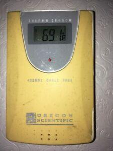Oregon Scientific THR138 Wireless Temperature Thermo Sensor - Works