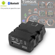 Bluetooth ODB2 OBDII Car Diagnostic Scanner Code Reader ELM327 For Android & PC