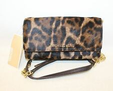 BNWT MICHAEL KORS Ladies Leopard Print Calf Hair Small Purse Cross Body Bag