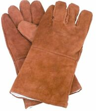 14'' COWHIDE WELDING GLOVES- with comfortable flannel lining - One size fits all