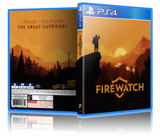 Firewatch - ReplacementPS4 Cover and Case. NO GAME!!