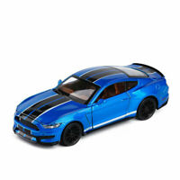 1:32 Ford Mustang Shelby GT350 Model Car Alloy Diecast Gift Toy Vehicle Blue Kid