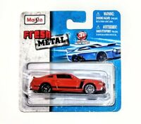 FORD MUSTANG BOSS 302 Maisto Fresh Metal 1:64 Scale Die-cast Red Car - NEW