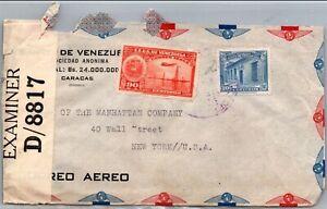 GP GOLDPATH: VENEZUELA COVER 1942 AIR MAIL _CV563_P13