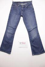 Levi's 529 bootcut boyfriend jeans usato (Cod.U566) Tg.43 W29 L32 donna