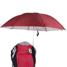 Clamp On Umbrella Large Red Clip Parasol Sunshade Garden Beach Outdoor Patio Sun