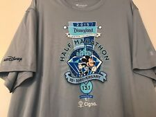 Disneyland Diamond Celebration Champion Double Dry Marathon Shirt Jersey Size XL