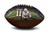 Julian Edelman #11 New England Patriots NFL Full Size Official Licensed Football