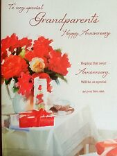 Anniversary Card For Very Special Grandparents