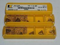 NEW Kennametal TPMT110208MF TPMT2152MF KC9110  ( 5 inserts box)