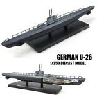 WWII German U-26 1/350  diecast model ship ATLAS
