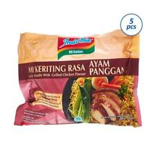 Indomie Curly Fried Instant Noodle Roasted Chicken Flavour HALAL 5 Pcs
