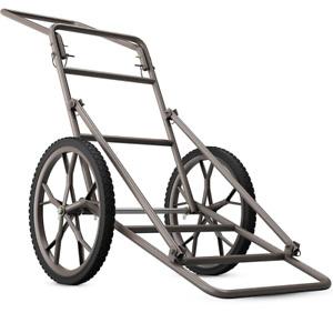 Folding Deer Cart Larger 500lb Hauler Utility Gear Dolly Cart Hunting Heavy-Duty