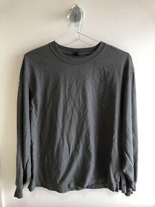 Uniqlo Long Sleeve TShirt Grey Size XS