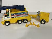 Fisher Price Husky Helpers 339 Husky Helper Power /& Light Service Trailer