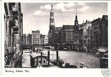 AK, Hamburg, Nikolai-Fleet, um 1953 ?
