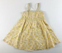Gymboree Yellow Floral Summer Dress 5 Wild Flowers NEW