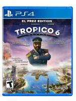 Tropico 6 El Prez Edition PS4 Playstation 4 Brand New Sealed