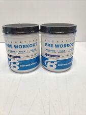 2 Pack Bodybuilding Pre Workout, Blue Raspberry 14.29oz Each