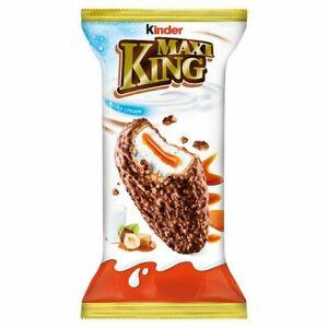 10 x Kinder Maxi King Hazelnut 35g *Fresh Produce* BBE +1week (Pack of 10)