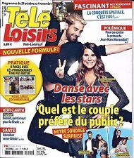 TELE LOISIRS N°1600 29/10/2016 DANSE AVEC LES STARS/ CONQUETE SPATIALE/ BENOIT