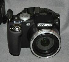Olympus Stylus SP-720UZ 14.0MP Digital Camera - Black