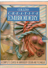 Collins Creative Embroidery & 48 Cards by Pauline Brown (Paperback, 1987)