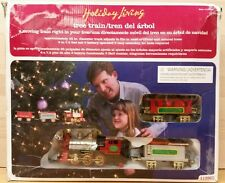 Holiday Living Christmas Tree Train Set COMPLETE #112903 MOUNTS IN TREE