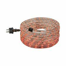 Lichtschlauch Set 6m mit steckerfertiger Anschlussleitung, Farbe rot