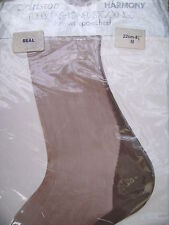 Vintage Aristoc SEAL fully fashioned point heel seamed sheer stockings 8 1/2 M