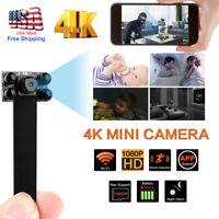 1080P 4K Wireless WIFI IP DIY Pinhole Spy Hidden Screw Camera Mini Video DVR US