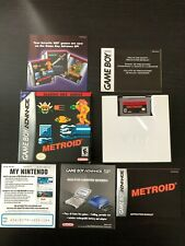 Metroid Classic NES Series Nintendo Game Boy Advance 2004 AUTHENTIC GBA Complete