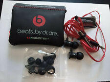 Original Beats by Dr. Dre urbeats en Ear auriculares negro HTC nuevo + accesorios!