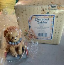 """Cherished Teddies Circus Lion """"You're The Mane Attraction"""" with Coa & Box"""
