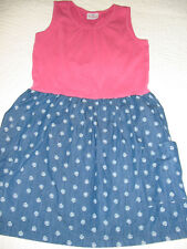 Hannah Andersson 150 super cute sleeveless dress, two front pockets