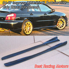 Bottom Line CS Style Side Skirts (Urethane) Fits 04-07 Subaru Impreza STi