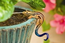 NEW Orbit DripMaster Decorative Garden Gecko Sprinkler Pot Hanger Waterer Clings