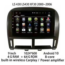Car Multimedia Player Stereo GPS DVD Radio Android Screen for Lexus LS 430 LS430