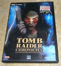 TOMB RAIDER CHRONICLES GIOCO PER  PC CD-ROM  ITALIANO