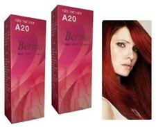 2 Berina Permanent Hair Dye Cream Fashion Punk Style A20 Ruby Red Color