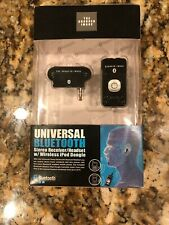 Sharper Image Universal Bluetooth Stereo Receiver/Headset w/Wireless iPod Dongle