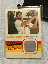 2020 Topps Heritage Clubhouse Collection Game Jersey SP Xander Bogaerts (Boston