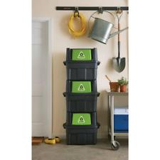 14 Gal. Stackable Indoor Recycling Bin