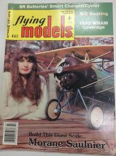Flying Models Magazine Morane Salnier WRAM Coverage July 1992 040917nonrh2