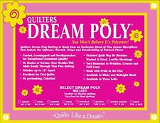 Quilters Dream Poly Select Batting-Mid Loft Craft Size