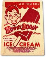 Howdy Doody Ice Cream Vintage Ice Cream Metal Decor Sign