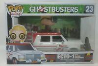 Funko POP! Rides Ghostbusters #23 Ecto-1 with Jillian Holtzmann Vinyl Figure